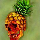 Pineapple Skull by Felipe Navega