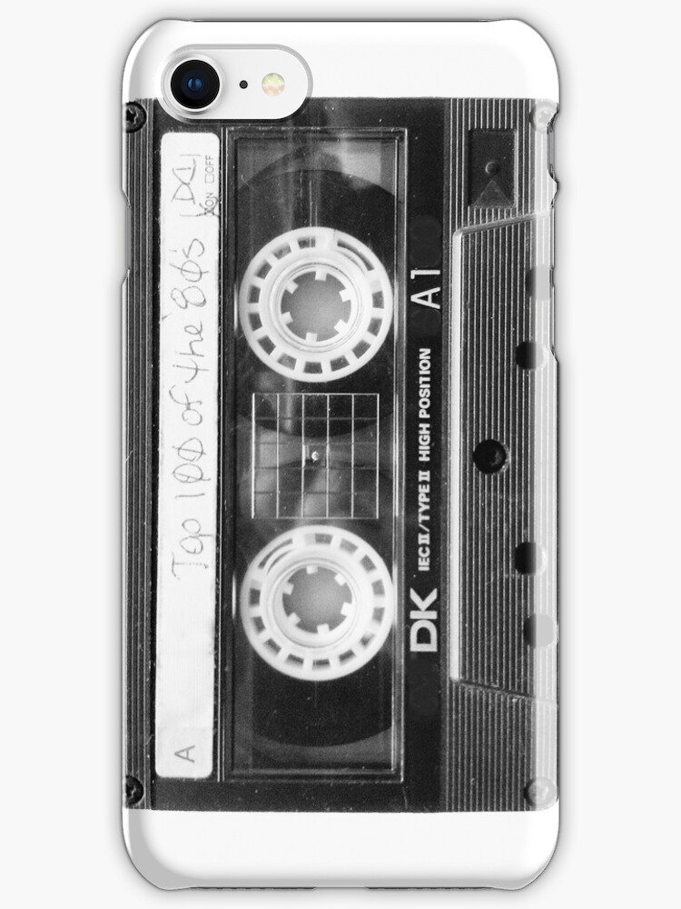 Retro 80s Cassette Tape  by Framerkat