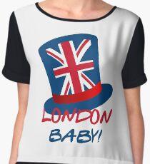 Joey's London Hat – London, Baby! Chiffon Top
