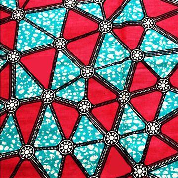 African wax Ankara print by hellcom