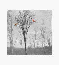 Red Birds Cardinal Tree A112 Scarf