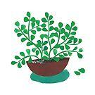 « La plante aux milles feuilles » par Mireille  Marchand