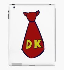 DK Donkey Kong Tie iPad Case/Skin