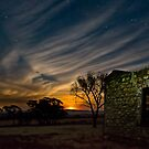 Moonset over Mount Remarkable by pablosvista2