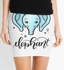 Elephant Mini Skirt