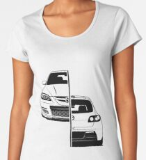 MazdaSpeed 3 Best Shirt Design Women's Premium T-Shirt