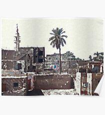 village in egypt Poster