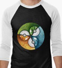 Pokeball badge Men's Baseball ¾ T-Shirt