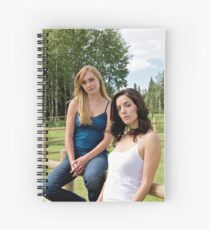 Amy & Lou - Heartland Spiral Notebook