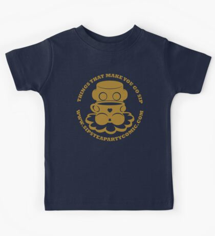 STPC: Things That Make You Go Sip (Gold O'BOT) 1.0 Kids Clothes