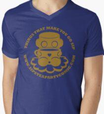 STPC: Things That Make You Go Sip (Gold O'BOT) 1.0 V-Neck T-Shirt
