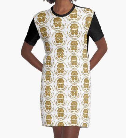 STPC: Things That Make You Go Sip (Gold O'BOT) 1.0 Graphic T-Shirt Dress