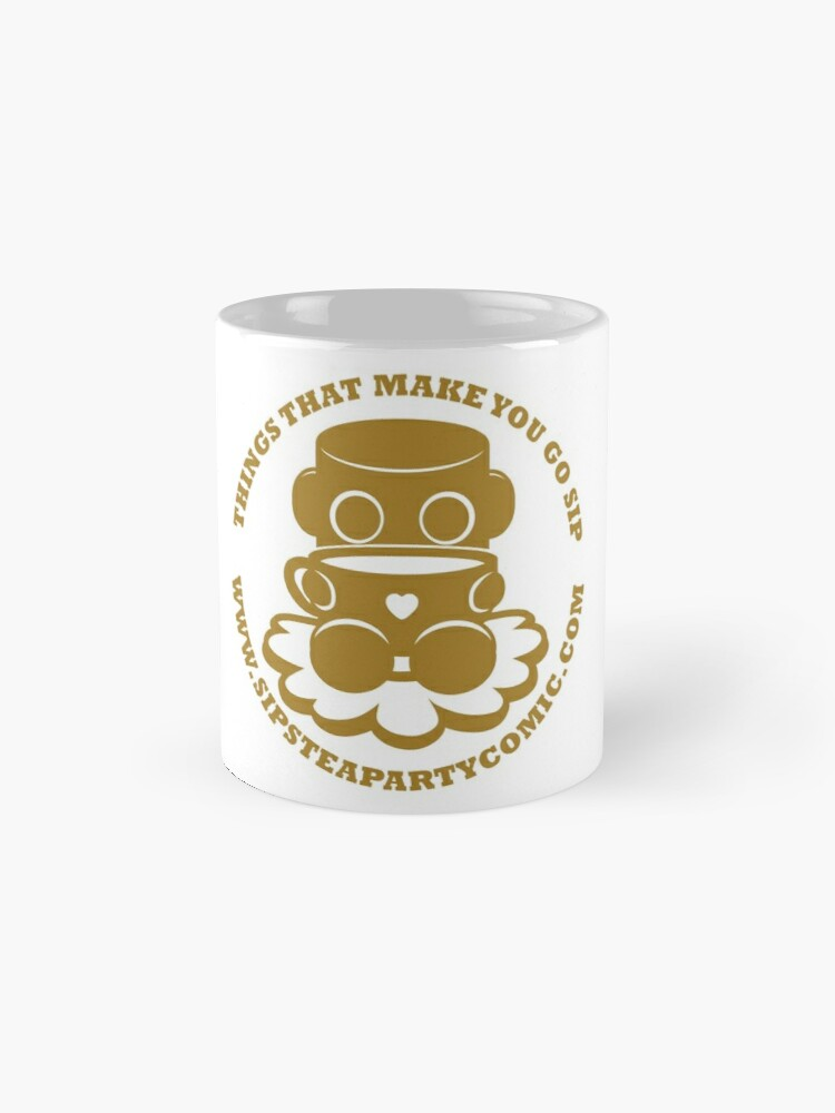 Alternate view of STPC: Things That Make You Go Sip (Gold O'BOT) 1.0 Classic Mug