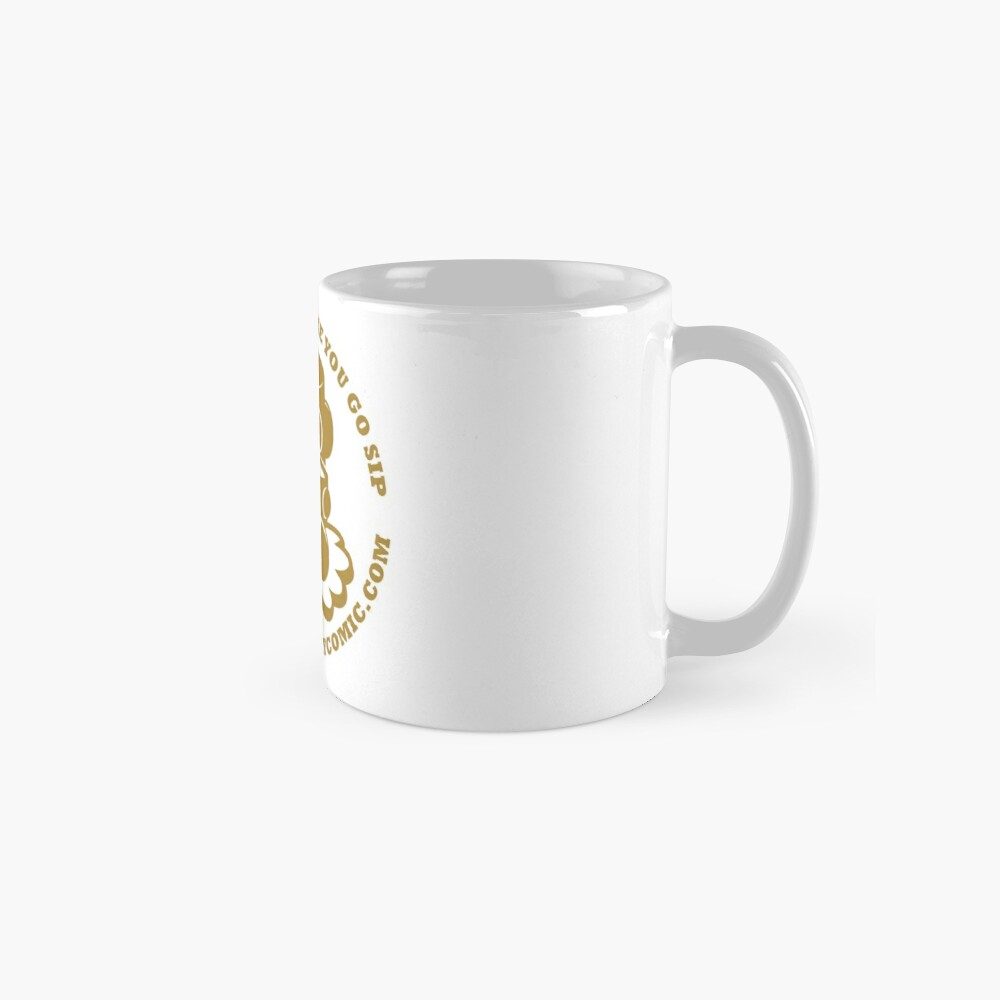 STPC: Things That Make You Go Sip (Gold O'BOT) 1.0 Classic Mug