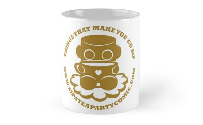 STPC: Things That Make You Go Sip (Gold O'BOT) 1.0 by Carbon-Fibre Media