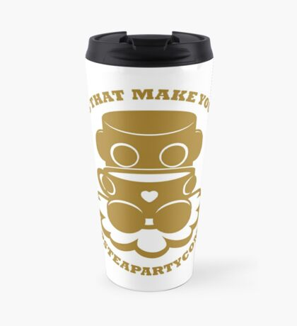 STPC: Things That Make You Go Sip (Gold O'BOT) 1.0 Travel Mug