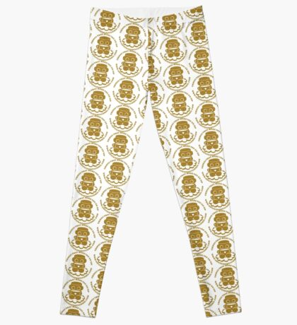 STPC: Things That Make You Go Sip (Gold O'BOT) 1.0 Leggings