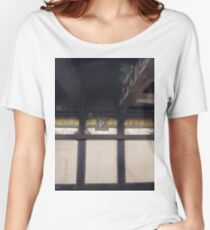 P, Street, New York, NY  Women's Relaxed Fit T-Shirt