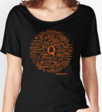 Qanon - Great Awakening - QResearch - Cryptograph Women's Relaxed Fit T-Shirt