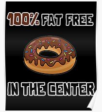 DONUT FAT FREE Poster