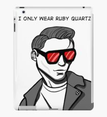 Only Ruby Quartz iPad Case/Skin