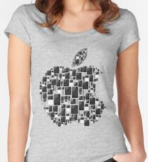 APPLE - IPAD IPHONE IPOD TOUCH Women's Fitted Scoop T-Shirt