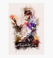 A Tribute to Elementalist LUX Photographic Print