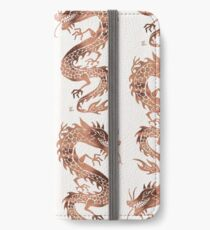 Chinese Dragon – Rose Gold Palette iPhone Wallet/Case/Skin