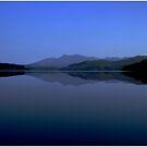 Loch  Awe  and  Ben Cruachan by Alexander Mcrobbie-Munro