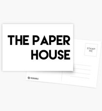 The Paper House T-Shirt Postcards