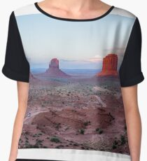 OUT west    by  Madhu Shesharam Chiffon Top