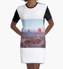 OUT west    by  Madhu Shesharam Graphic T-Shirt Dress
