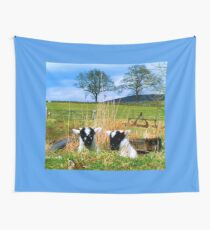 Playing Peek_A_Boo Up Glen Prosen Wall Tapestry