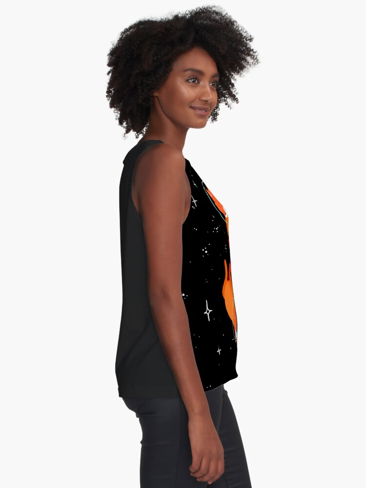 Alternate view of Space Foxes Sleeveless Top