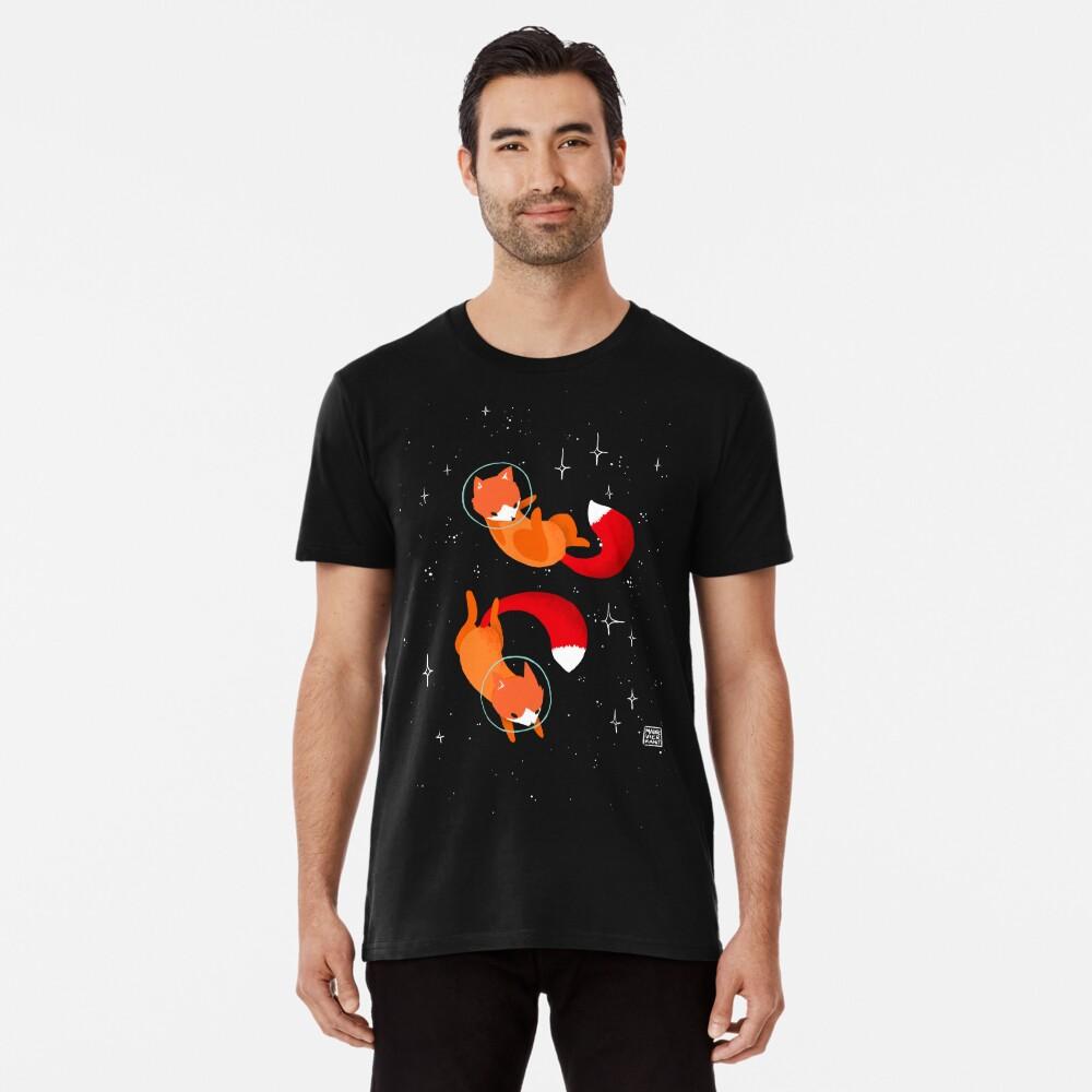 Zorros espaciales Camiseta premium