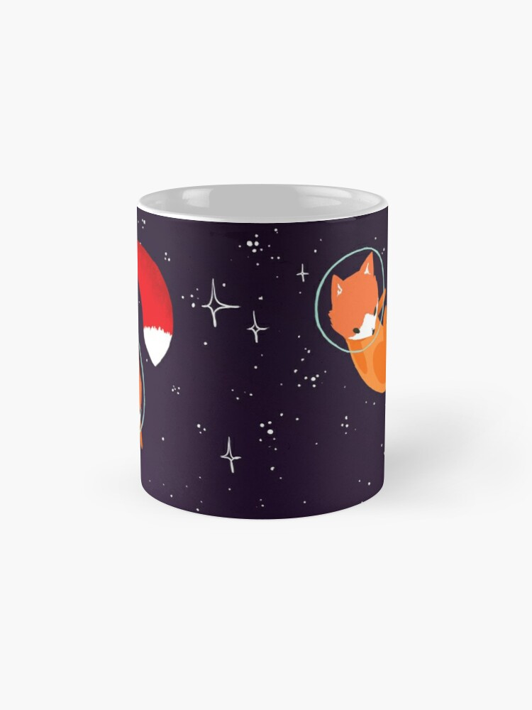 Alternate view of Space Foxes Mug