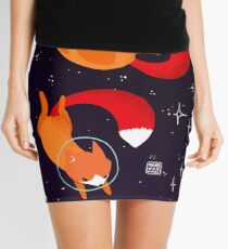 Space Foxes Mini Skirt
