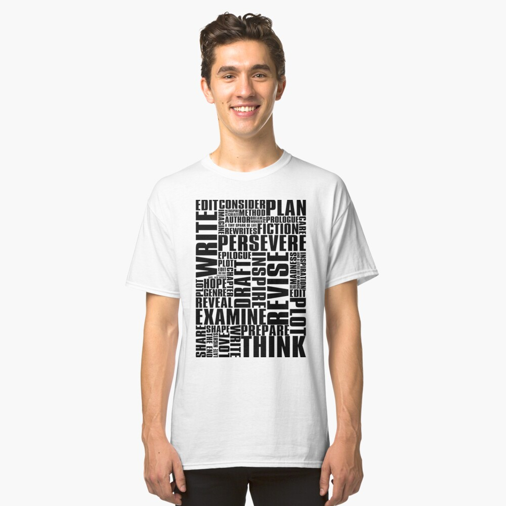 Writer's Inspiration Classic T-Shirt Front