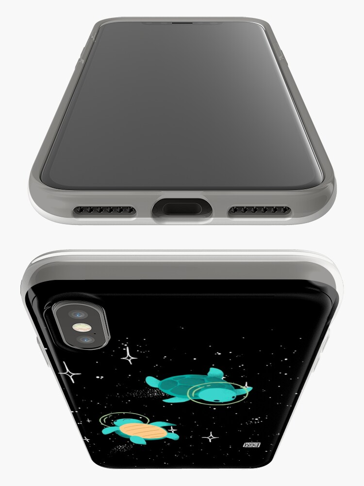 Alternate view of Space Turtles iPhone Case & Cover