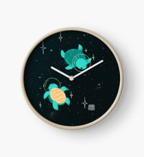 Space Turtles Clock