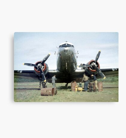 Fill Her Up Canvas Print