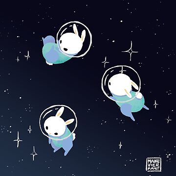 Space Bunnies by Vierkant