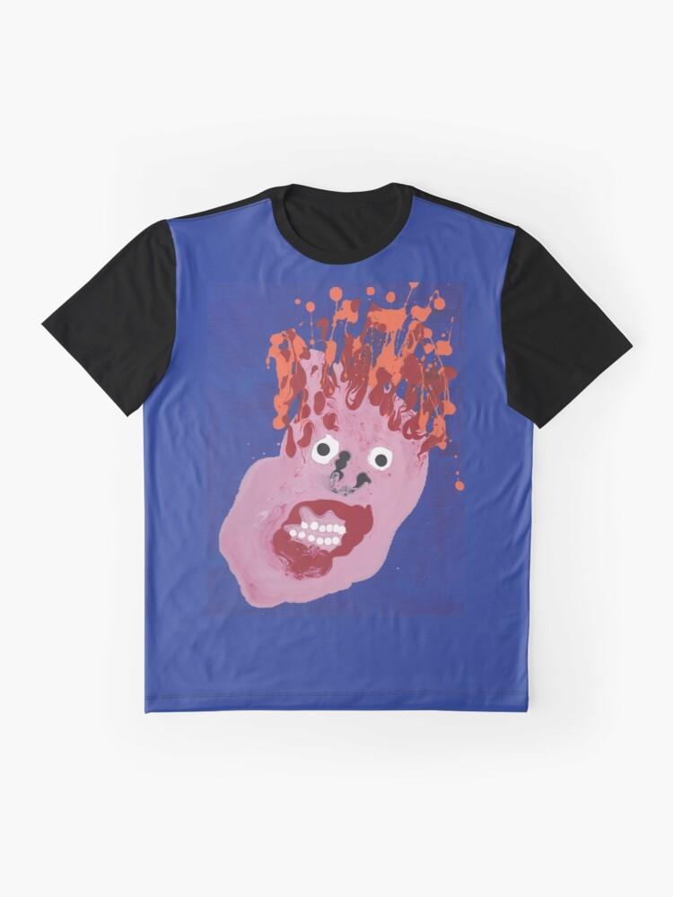 T-shirt graphique ''Bill - Martin Boisvert - Faces à flaques': autre vue