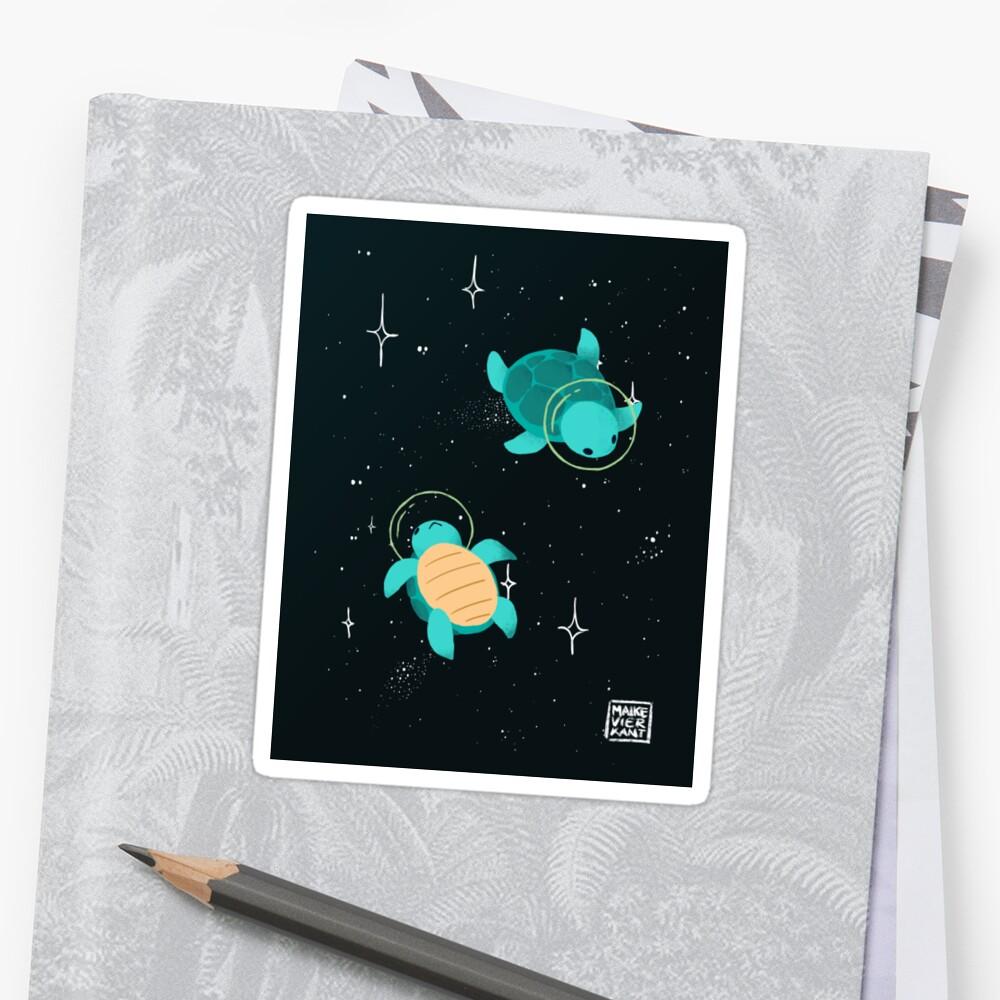 Space Turtles by Maike Vierkant