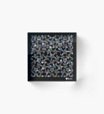 Fragmented Penrose Acrylic Block