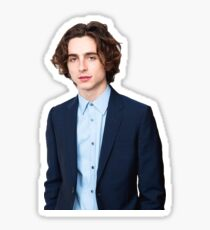 Timothée Chalamet Sticker
