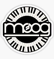 Vintage Moog Synthesizer Sticker