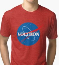 NASA (but it's voltron) Tri-blend T-Shirt