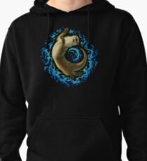 Otter Waves Pullover Hoodie
