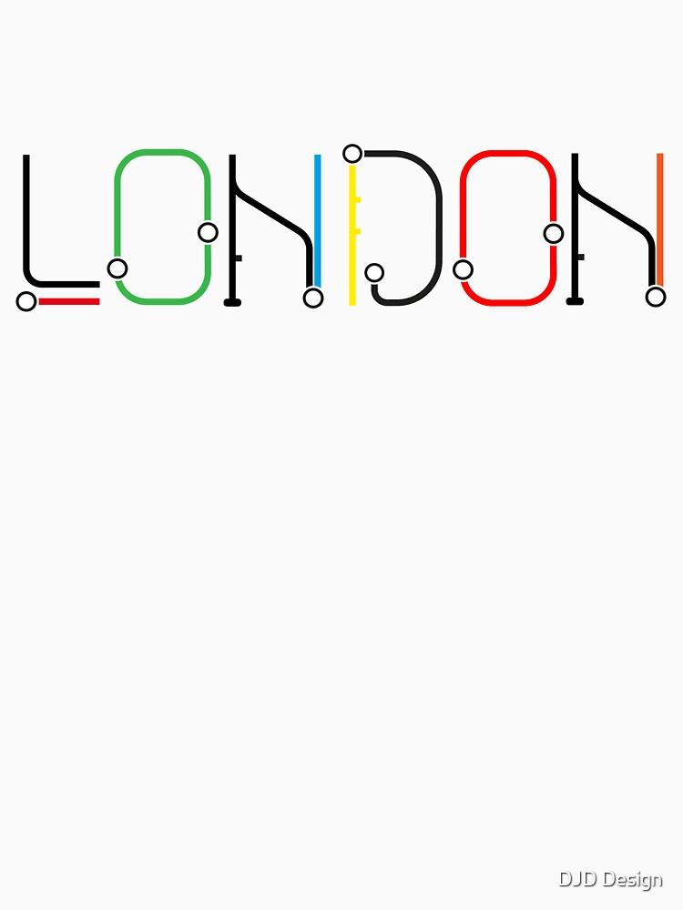 London Underground Inspired Font Design by DanDobsonDesign